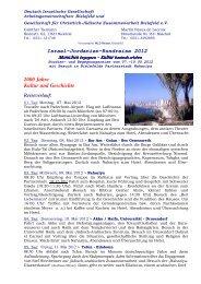 Israel-Jordanien-Rundreise 2012 2000 Jahre Kultur und Geschichte