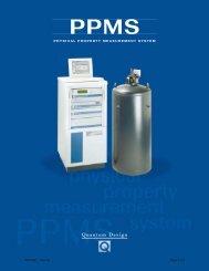 PPMS - Quantum Design, Inc.