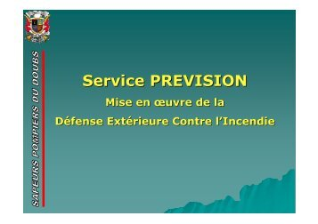 Service PREVISION - Ascomade
