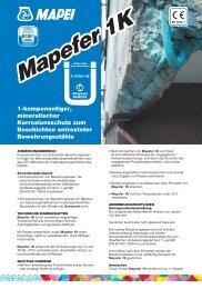 Mapefer 1K - Mapei