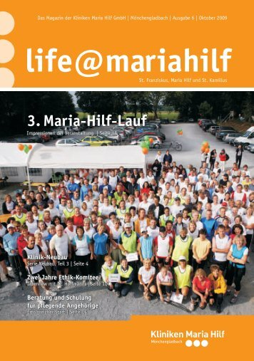 3. Maria-Hilf-Lauf - Kliniken Maria  Hilf GmbH