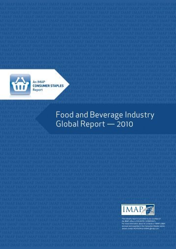Food & beverage global report 2010.pdf - IMAP