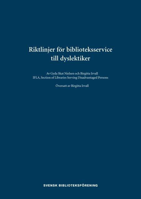 Ladda ned PDF-fil - Svensk Biblioteksförening