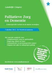 PDF Landelijk Congres Palliatieve Zorg en Dementie ... - StudieArena