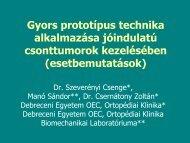 esetbemutatás - Debreceni Egyetem