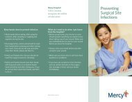 Preventing Surgical Site Infections - Mercy