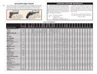 Hunter Holster Chart - MidwayUSA