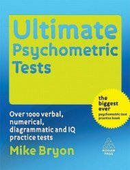 Ultimate Psychometric Tests: Over 1000 Verbal, Numerical ...