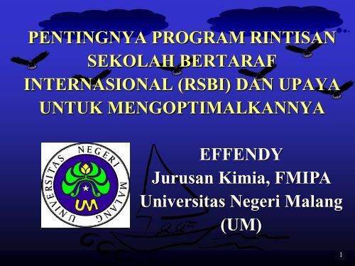 3. pentingnya program rintisan sekolah bertaraf internasional (rsbi)