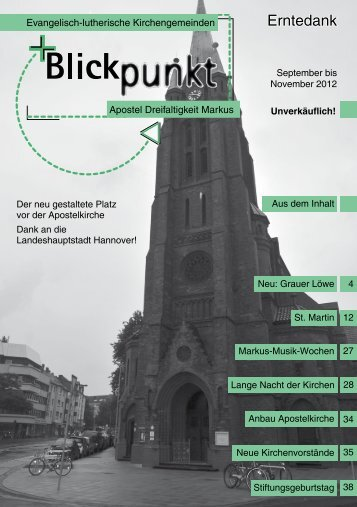 November 2012 - Markuskirche