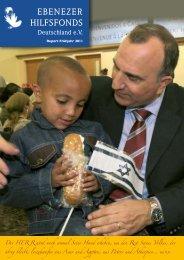 Report Frühling 2011 - Ebenezer Hilfsfonds Deutschland eV