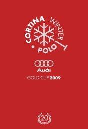 Scarica la versione PDF del Magazine Ufficiale (8 ... - Audi Gold Cup