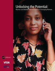 Unlocking the Potential: Women and Mobile Financial - GSMA
