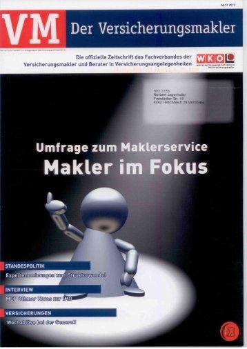 M Der Versicherungsmakler - Jagerhofer