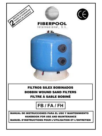 Filtros - FIBERPOOL