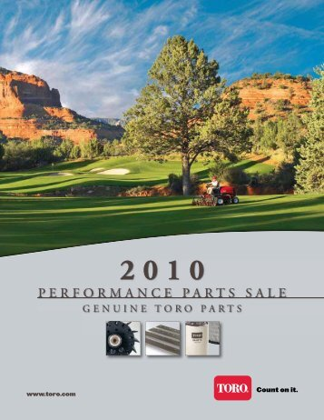 to download the 2010 Toro Performance Parts Catalogue - Parkland ...