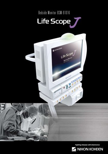 Bedside Monitor BSM-9101K - Fenno Medical Oy
