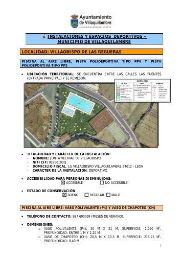 Instalaciones Deportivas de Villaobispo de las Regueras
