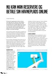 nu kan man reservere og betale sIn havneplads onlIne - COMPUSOFT