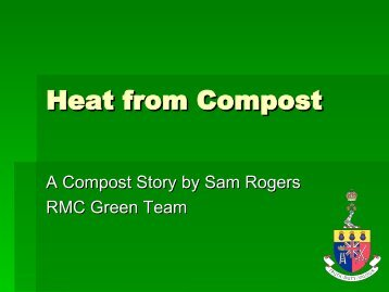 Extracting Heat from Compost