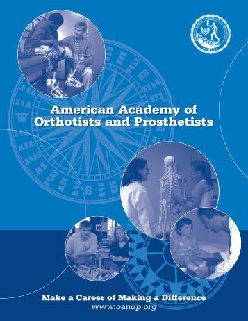 Turnkey booklet - American Academy of Orthotists & Prosthetists