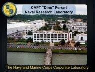 Ferrari Naval Research Laboratory - Defense Innovation Marketplace