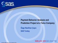 Payment Behavior Analysis and Prediction Project at a Telco ...