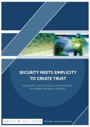 DIGITAL SECURITY WHITEPAPER:DIGITAL SECURITY ...
