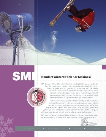 Standart Wizzard Fanlı Kar Makinesi - Snow Machines, Inc.