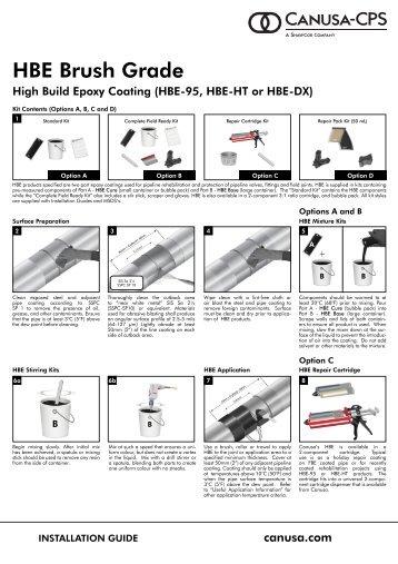 HBE Brush Grade - Canusa-CPS