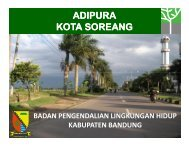 1. Adipura Soreang - Pemerintah Kabupaten Bandung