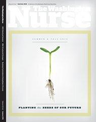 Issue 42.2 - Summer 2012 - The Washington State Nurses Association