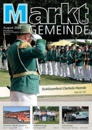 Schützenfest Clarholz-Heerde - Gewerbeverein Herzebrock-Clarholz