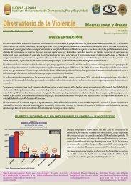 Edición 19 (Enero - Septiembre 2010) - IUDPAS