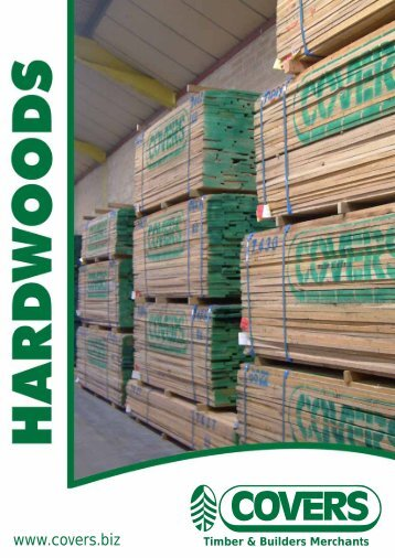 Hardwood Brochur - Covers