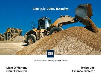 Presentation - CRH