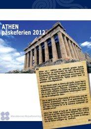 ATHEN påskeferien 2012