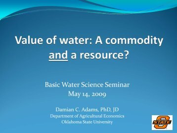 A Commodity & a Resource [pdf] - Water Resources Board - State of ...