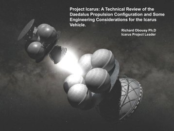 Project Icarus: A Technical Review of the ... - Icarus Interstellar