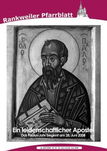Ein leidenschaftlicher Apostel