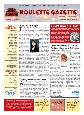 Roulette Gazette - Guidebook