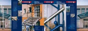 Stahlbau Bauschlosserei Stahlbau Bauschlosserei - Markgraf Bau
