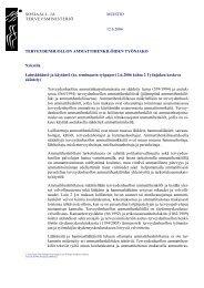 MUISTIO SOSIAALI- JA TERVEYSMINISTERIÖ 12.6 ... - Talentum