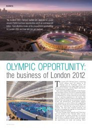 OLympic OppOrTuniTy: