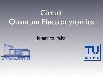Circuit Quantum Electrodynamics - CoQuS