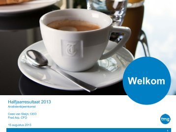 Hoofdstuk - TMG corporate