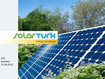 mustafa ahmet beler - solar türk - ICCI