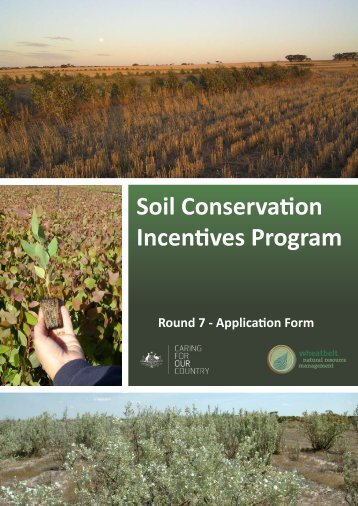 to download the application form - Wheatbelt NRM
