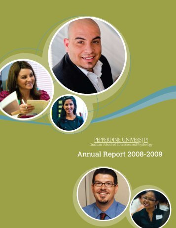 Annual Report 2008-2009 - Graduate School of Education and ...