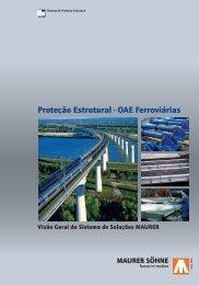 Proteção Estrutural - OAE Ferroviárias - Maurer Söhne Group